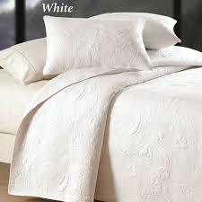 Quilted Bedspread King Bedroom Design Herringbone Persimmon Matelasse Coverlet And