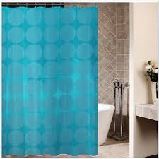 blue circle shower curtains cheap polyester for