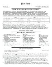 business development sample resume business development resume