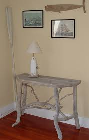 Driftwood Sofa Table by Cape Cod Driftwood Furniture Driftwood Table Driftwood Wreath