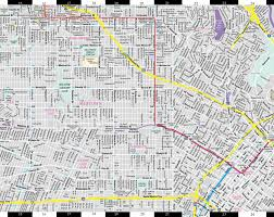 Los Angeles Maps by Streetwise Los Angeles Map Laminated City Center Street Map Of