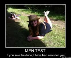 Girl On Girl Memes - men test girl memes jokeitup com