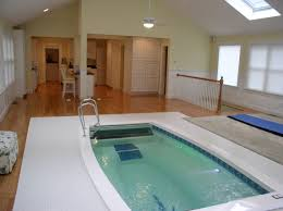 Residential Indoor Pool Stunning Residential Installation Of A Swimex Pool Next To Kitchen