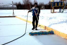 Build Backyard Ice Rink by Backyard Ice Rink Plans