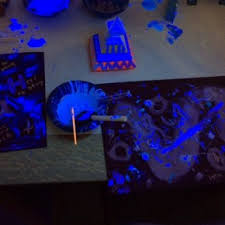 program kit blacklight painting for adults library as