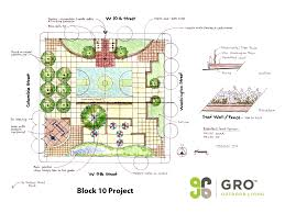 Landscape Floor Plan by Landscape Architecture U0026 Design Development Gro Outdoor Living