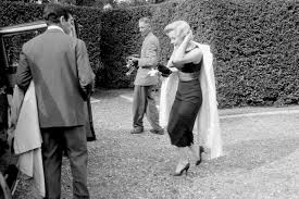 Marilyn Monroe House by Leigh Wiener Marilyn Monroe February 25 1956 At A Press