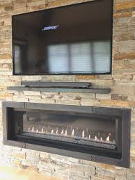 fireplace top tv above gas fireplace decoration ideas collection