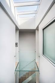Modern Row House by Modern Row House Design With Amazing Skylight In Richmond Virginia