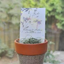 flower pot favors wedding favor sale plant a memory favors gifts