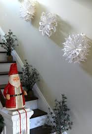 Up The Stairs Wall Decor 26 Creative Snowflake Decorations That Inspire U2013 Home Info