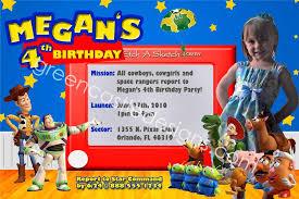 birthday invites mesmerizing toy story birthday invitations ideas
