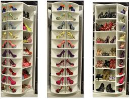 Tall Shoe Cabinet With Doors by Cool Tall Shoe Rack With Mirrored Door On Grey Stucco Wall Of Tall