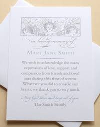 thank you for sympathy card the 25 best sympathy thank you cards ideas on