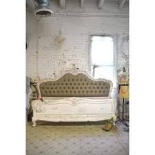 kara hollywood regency button tufted fawn linen queen bed liked