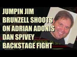 Adonis Meme - jumpin jim brunzell shoots on adrian adonis dan spivey backstage