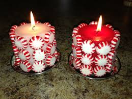 dollar store craft for christmas 1 mints u0026 1 candle glue