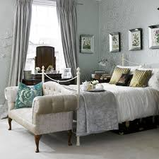 small grey theme romantic country style master bedroom design