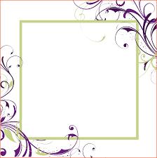 11 blank menu template survey template words