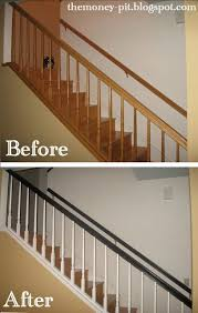 carpinter 237 a ebanister 237 i want the white spindles with the dark brown railing and