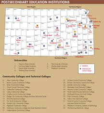 Map Of The State Of Kansas by Kansas Department Of Commerce Official Website Education