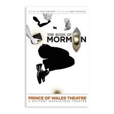 book of mormon jumping mormon ornament