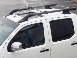 nissan pathfinder roof rails fits nissan navara d40 2006 on oe roof rails roof bars ski rack
