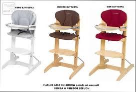 chaise woodline chaise haute coussin pour chaise haute woodline