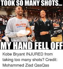 Kobe Bryant Injury Meme - 25 best memes about nba nba memes