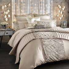 kylie minogue bedding celeste shell praline beige duvet cover