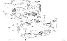 2003 dodge ram 1500 rear bumper need a diagram for rear bumper removal for a 1997 dodge ram 1500