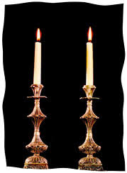 shabbat candles getting even with the shabbat candles chabad org