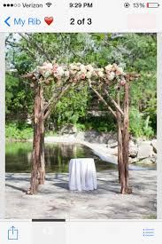 wedding arches made of branches identify this tree for me flowers city leaves
