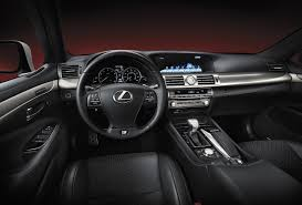 lexus interior 2012 2013 lexus ls range unveiled u2013 f sport joining line up forcegt com