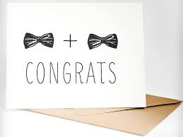 congrats on wedding card the best and wedding cards