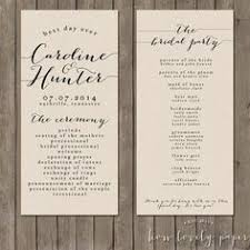 printed wedding programs wedding programs printed evolist co