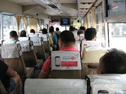 philippine jeepney interior airconditioned bus destination philippines
