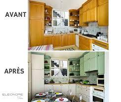 cuisine avant apr鑚 renovation cuisine bois avant apres cuisine en beautiful comment