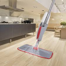 Laminate Flooring Cleaning Instructions Ikayaa Floor Spray Mop W 380ml Water Sales Online Gray Tomtop Com