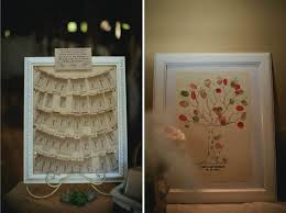 modern wedding guest book a diy wedding with vintage styling in country australia