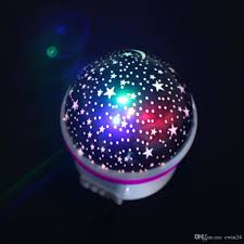 Light Projector For Kids Room by Romantic Led Night Lamp Rotating Starry Star Moon Sky Rotation