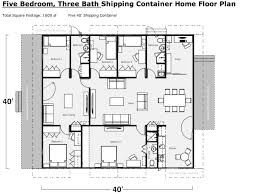 isbu home plans exle of a shipping container home floor plan shipping container