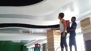 stretch ceiling malaysia by aero lighting batu ceves youtube
