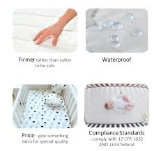 Best Crib Mattresses Top 5 Best Crib Mattresses 2018 Buyer S Guide And Reviews