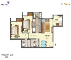 Park Central Floor Plan Lodha Palava Central Park By Lodha Group 1 2 3 Bhk Flats For
