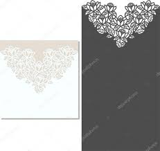 Invitation Card Stock Laser Cut Envelope Template For Invitation Wedding Card U2014 Stock