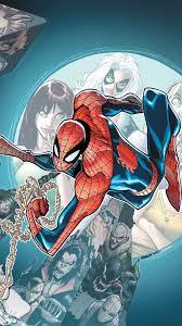 iphone 7 plus comics spider man wallpaper id 482550