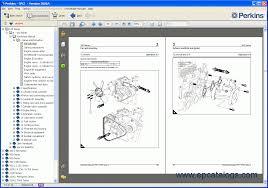 perkins spi2 2006a spare parts catalog heavy technics repair