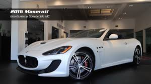 maserati granturismo 2016 on the lot 2016 maserati granturismo convertible mc for sale at