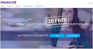 posting resume on monster monster job posting guidelines for ads that attract winners